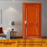 内部の木のドアの寝室の木製のドアデザイン(GSP6-004)