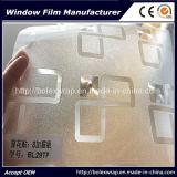 Pellicola di vetro macchiata decorativa autoadesiva 1.22m*50m del pellicola di vetro della finestra della scintilla 3D/