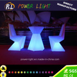 2016 New Design Diamond Furniture com LED Bar Furniture Iluminado LED Bar Table Stool