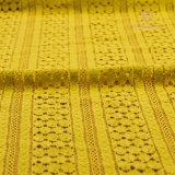 Tessuto elastico del merletto con 90%Nylon e 10%Spandex