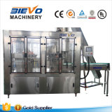 Máquina automática de llenado de bebidas gaseosas para botellas de plástico
