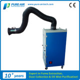 Collettore di polveri mobile dei fumi di saldatura per il fumo della saldatura (MP-2400SH)