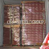 Feuille de métal de la puce de pierres colorées/Stone recouvert de bardeaux de toit de métal