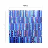 Gebäude-Hersteller-Handausschnitt-Badezimmer-blaues Fliese-Glas-Mosaik