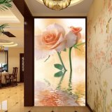 La pintura china impresa Digitaces de Rose para la decoración del vestíbulo