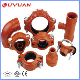 Accessori per tubi Grooved del ferro duttile per il sistema di protezione antincendio con FM/UL elencato