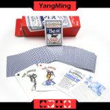 Bester Kasino-Schürhaken eingesetzte Spielkarten der Bienen-555 für TexasHoldem Baccarat-spielende Spiele Ym-PC09