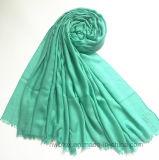 Plaine classique teints Soft Lady foulard dans 100% viscose (HM094)