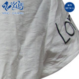 Grey Short-Sleeve Loose Letters Newstyle Mode Ladies T-Shirt