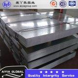 Plaque de toiture en acier galvanisé avec revêtement Z90