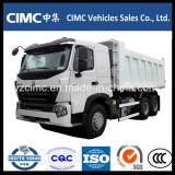 HOWO A7 10の荷車引き371HPのダンプトラック20cubic