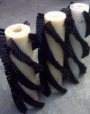 Три оси Высокоскоростной плоский провод волосы щеткой Plangting машины