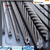 自由な切断の鋼鉄特別な使用およびBS、ASTM、JIS、GB、DINのAISIの標準電流を通された鋼線ロープ