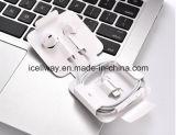Реальные оригинальный кабель для Apple iPhone7 наушники с пультом ДУ и микрофоном