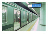 32インチの地下鉄または柵1000nitsの中継によって伸ばされる棒LCD表示