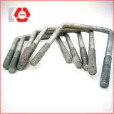 Divers genres et boulon en U de haute résistance de l'acier du carbone DIN 3570