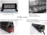 Barra clara do diodo emissor de luz 3D do CREE impermeável da lente 36W 8inch para Offroad (GT3801-36W)