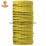 Sciarpa gialla di Microfiber di migliore di prezzi ultima di buona qualità stampa dello schermo