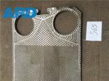 Plaque de plaque d'échangeur de chaleur de plaque de Sondex S63 S65 avec du titane C2000 AISI304 AISI316