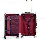 La valise à roues promotionnelle métallique silencieuse faite sur commande de chariot enferme le bagage