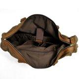 Echtes Leder-gewaschene Segeltuch-Mann-Handtasche (RS-2025F)