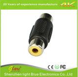3.5mmの音声のヘッドホーンのアダプター