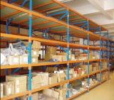 Shelving longo da extensão do dever médio industrial do armazém