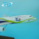 Самолет игрушки смолаы B747-8 пассажирского самолета модельный