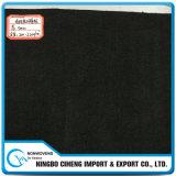 10 mm de espesor negro viscosa no tejidos activados de carbono aguja de fieltro