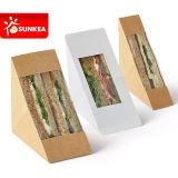 Het embleem drukte de Duidelijke Container van de Sandwich van het Document van het Venster af