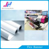 Рекламируя знамя гибкого трубопровода материала освещенное контржурным светом PVC (610GSM)