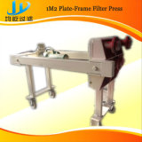 Mini filtro portable de la prensa, pequeña prensa de filtro movible