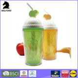 زوبعة بلاستيكيّة يدويّا يحرّك فنجان عادة علامة تجاريّة زاويّة رجّاجة فنجان