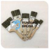 Pinceau en bois de traitement avec des outils de peinture de filament