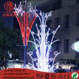 Luz de Natal branca da decoração da rua do anjo 2m*1m do diodo emissor de luz para a venda