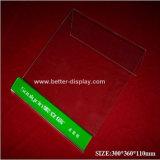Support d'affichage pour écouteurs en acrylique avec écran MP4 Btr-C6001