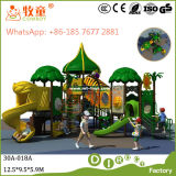 Детский игровой площадкой для установки вне помещений парк развлечений (MT/WOP-046B)