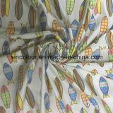 80% Nylon 20% Tecido de impressão Spandex para roupa de banho