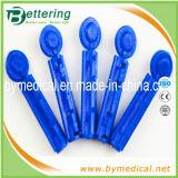 Sterile Plastiktorsion-Oberseite-Blut-Wegwerflanzette