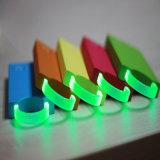 batería móvil de la potencia del bolso 3000mAh con los accesorios luminosos del teléfono móvil del anillo