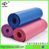 Mat Van uitstekende kwaliteit van de Yoga van de Oefening NBR van de Levering van de Fabriek van China de Directe voor de Mat van NBR /PVC/TPE Yoag