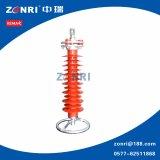 Pararrayos 24kv Hy5w-24 de la oleada del alto voltaje