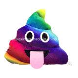 Buntes dekoratives Plüsch-SpielzeugPoop Emoji Kissen