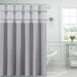 Nuova tenda di acquazzone impermeabile popolare della stanza da bagno del tessuto del poliestere (02S0018)