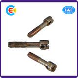 DIN/ANSI/BS/JIS Stainless-Steel Carbon-Steel/4.8/8.8/10.9 vis Phillips galvanisé l'emplacement de la tige pour la construction/Railway