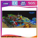 Equipamento interno do parque de diversões do campo de jogos das crianças