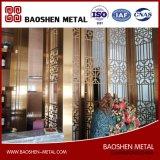 Décoration de salle moderne décorée à la décoration Partition Acier inoxydable Direct From Manufacturer