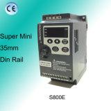 Привод частоты Afd супер миниого 35mm DIN рельса S800e регулируемый
