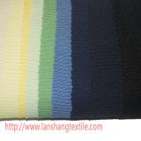 Tecido de poliéster de estrutura química Tingidos de tecido Jacquard para mulher vestidos Cortina de Vestuário Têxtil Inicial