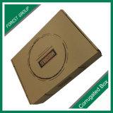 Schwarzes Firmenzeichen gedruckter sendender Kasten des gewölbten Papier-3ply